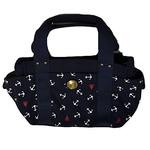 Tommy Hilfiger Women's Small Iconic Navy Anchor Purse Handbag