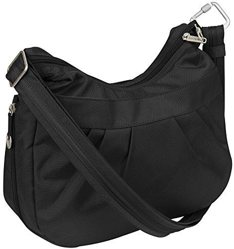 Travelon Anti-Theft Adjustable Crescent Bag Black