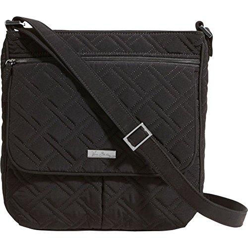 Vera Bradley Double Zip Mailbag – Solids (Classic Black)