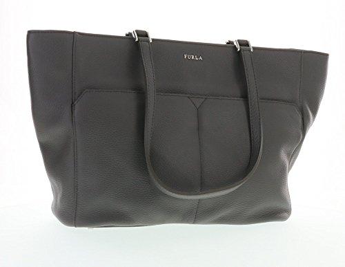 Furla Raffaella Leather Shoulder Hand Bag Tote (Mist 035)