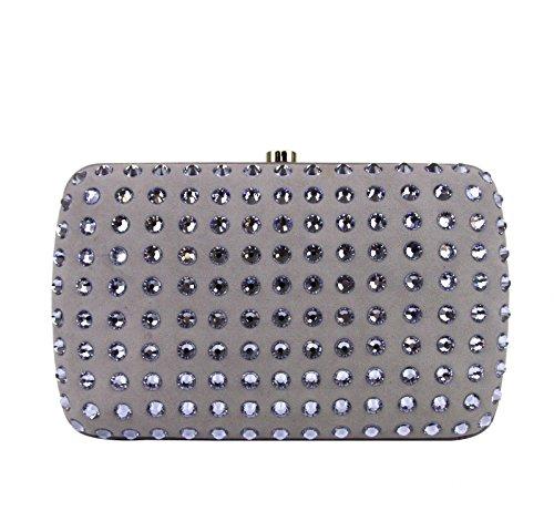 Gucci Ladies Light Mauve Broadway Suede Clutch Bag 310005 5360