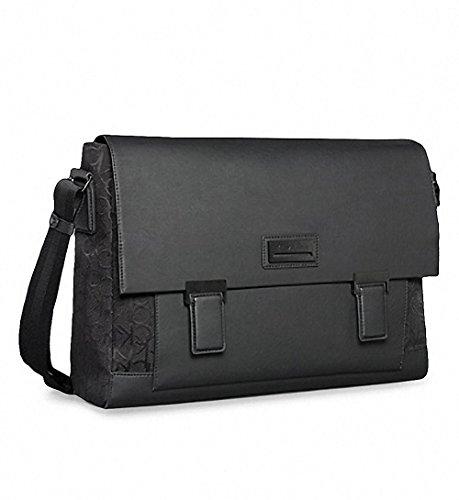 Calvin Klein Caleb Messenger Bag Black