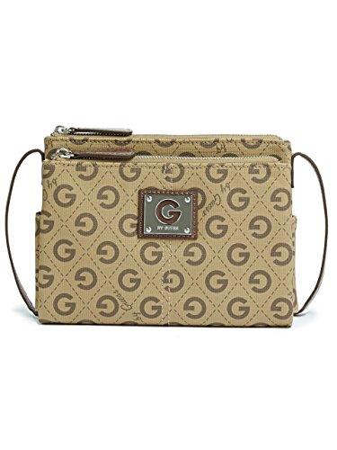 G by GUESS Women's Lucette Logo Cross-Body Bag