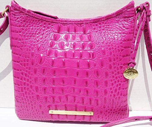 Brahmin Jody Leather Crossbody Bag Dahlia Melbourne