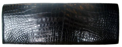 Otilia Bk – Genuine Alligator Clutch Handbag