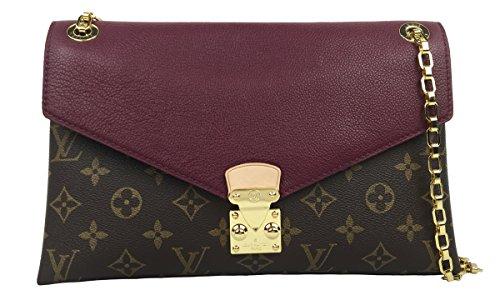 Louis Vuitton Pallas Chain Aurore M41200 Clutch Shoulder Bag Cross Body