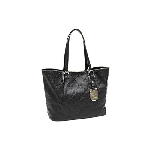 Longchamp LM Cuir Tote Bag – Black/Nickel