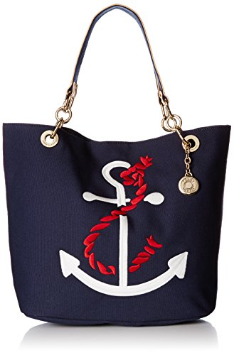 Tommy Hilfiger TH Signature with Flat Handles Travel Tote