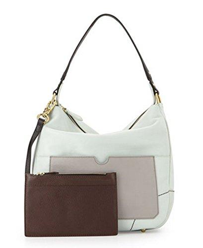 orYANY Adele Colorblock Shoulder Bag, Sea Foam/Multi