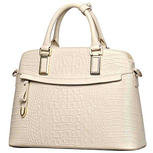 Yisihua Women's Tote Single Shoulder Bag Handbag Cow Leather