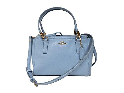 Coach Mini Christie Crossbody Handbag in Leather F34797