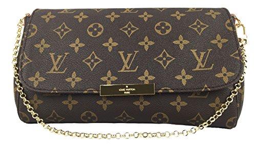 Louis Vuitton Favorite MM Monogram Canvas M40718 Handbag
