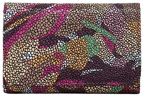 HOBO Hobo Vintage Jill Wallet, Fall Foliage, One Size