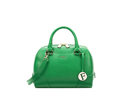 Furla Dolly S Satchel (Green)