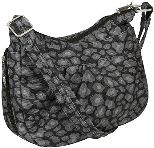 Travelon Anti-Theft Adjustable Crescent Bag Leopard