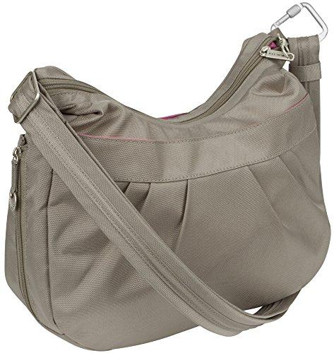 Travelon Anti-Theft Adjustable Crescent Bag Stone