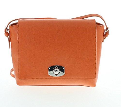 Furla New Appaloosa Saffiano Textured Leather Cross Body Shoulder Bag (Vitamina 029)