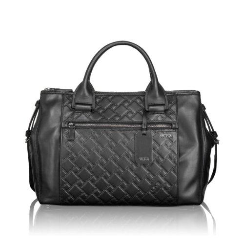 Tumi Leather Ticon Business Satchel Brief 31606