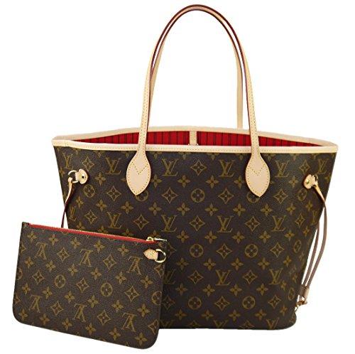 Louis Vuitton Neverfull MM Monogram Cherry M41177 Handbag