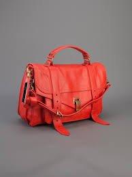 PS1 Medium Satchel Bag, Poppy