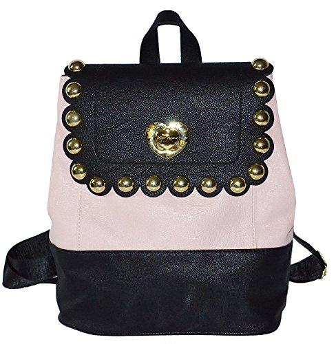 Betsey Johnson Scallop Medium Backpack Bag Purse Handbag