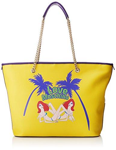 Love Moschino Surfer Girl Charming Black Shoulder Bag