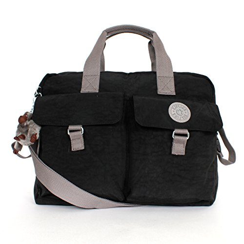 Kipling New Baby Bag with Changing Mat INK Black with Mint Trim