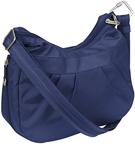 Travelon Anti-Theft Adjustable Crescent Bag Blue