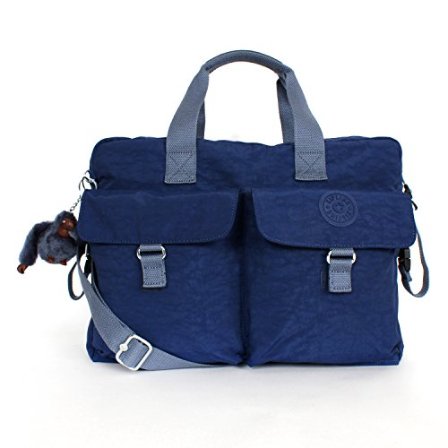 Kipling New Baby Bag with Changing Mat INK Blue with Cadet Trim