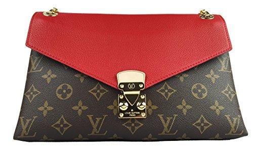 Louis Vuitton Pallas Chain Cherry M41201 Clutch Shoulder Bag Cross Body