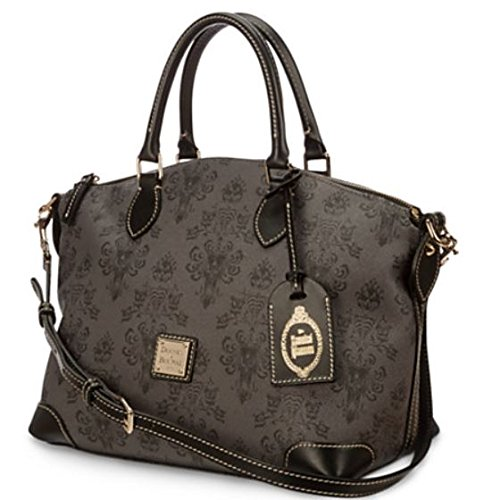 """The Haunted Mansion Satchel by Dooney & Bourke Tote 10"""" H x 11"""" W x 7"""" D Handbag Mixed Bag Fast Ship From NJ"""