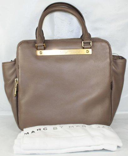 Marc by Marc Jacobs women's leather handbag shopping bag purse columbus brown