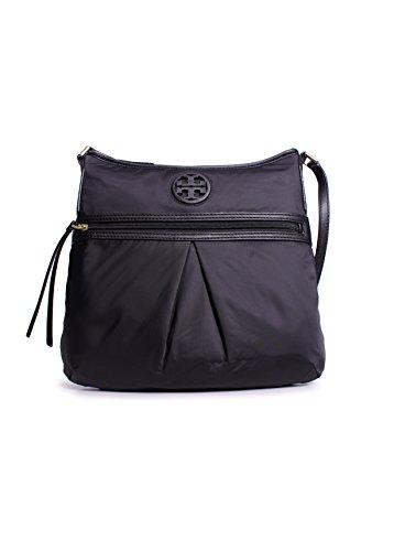 Tory Burch Nylon Swingpack in Black