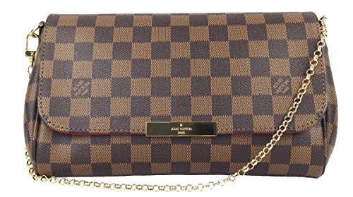 Louis Vuitton Favorite MM Damier Ebene Canvas N41129 Handbag
