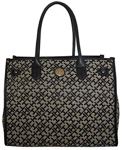 Tommy Hilfiger Handbag Black Canvas