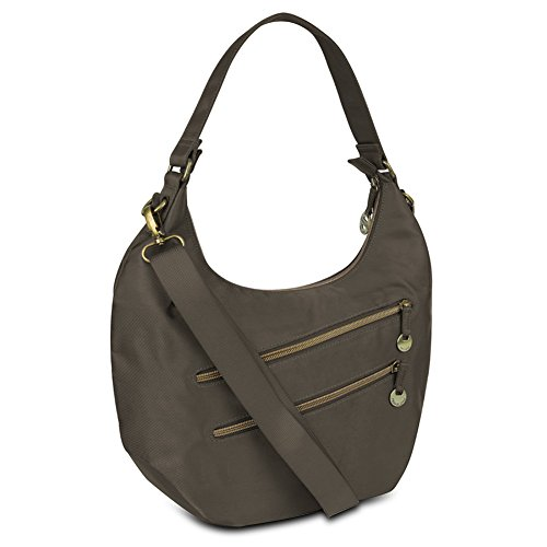 Travelon Convertible Hobo with RFID Protection – Truffle