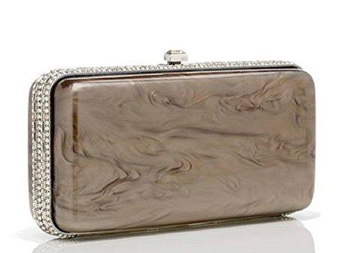 Judith Leiber Resin Rectangle Dinah Handbag Italy