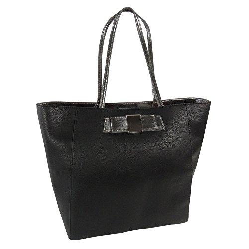 Ivanka Trump Blair Metallic Shopper Shoulder Bag
