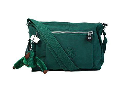 Kipling Wes Messenger Shoulder Bag Jungle Green