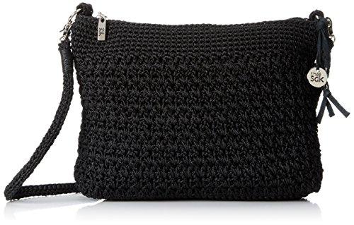 The Sak Casual Classics 3 In 1 Clutch Shoulder Bag, Black, One Size