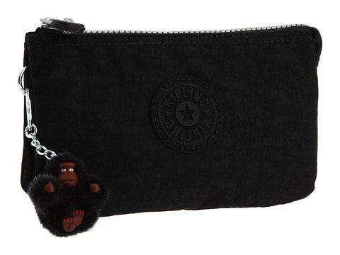 Kipling U.S.A. Creativity Small Pouch Clutch Handbags – Black