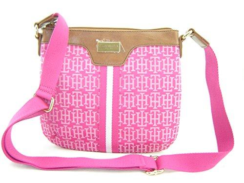 Tommy Hilfiger Small Xbody Crossbody Handbag Pink