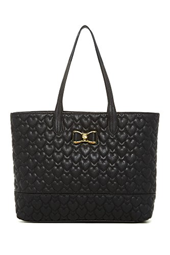 Betsey Johnson Be My Bow Tote, Black, One Size