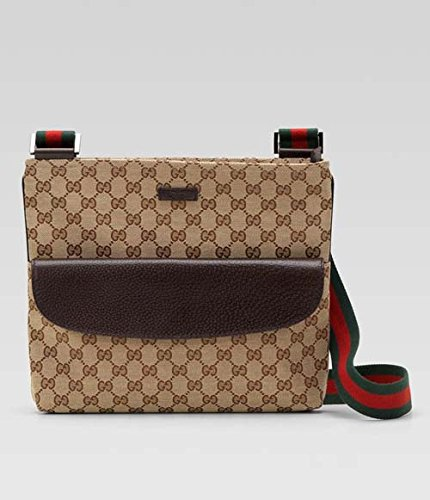Gucci Original Gg Canvas Leather Messenger Coco Handbag Strap New