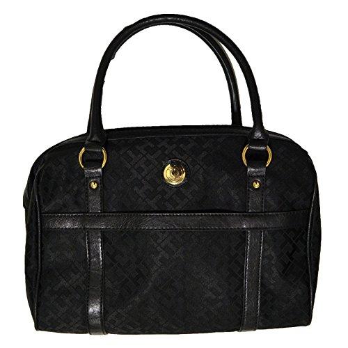 Tommy Hilfiger Satchel Purse Womens Black Handbag