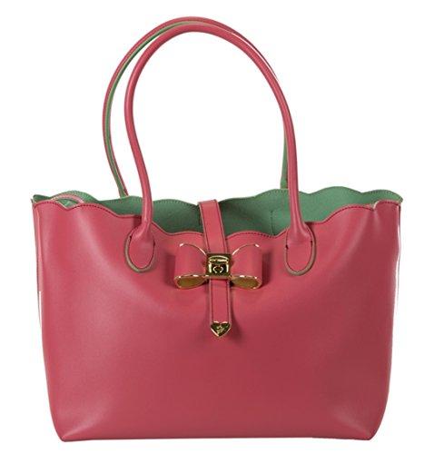 Betsey Johnson Extra Baggage Tote Shoulder Bag, Pink