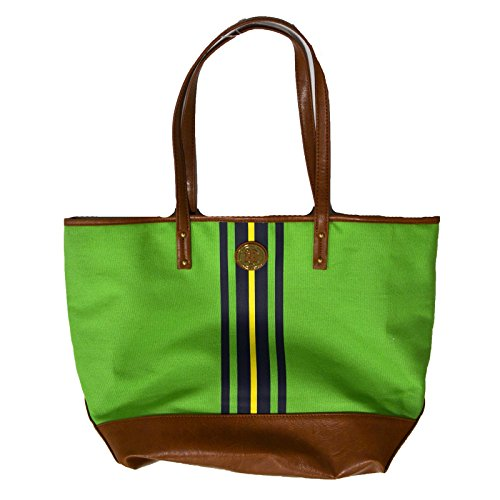 Tommy Hilfiger Tote Purse in Green