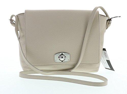 Furla New Appaloosa Pebbled Leather Cross Body Shoulder Bag (Marble 021)