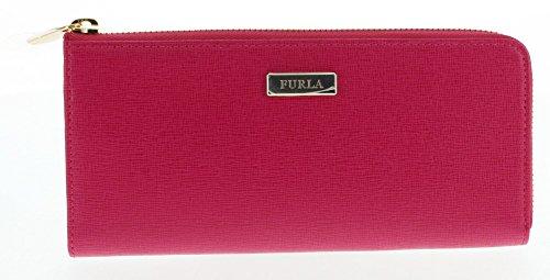 Furla Saffiano Leather Classic Zip Wallet (Gloss 030)