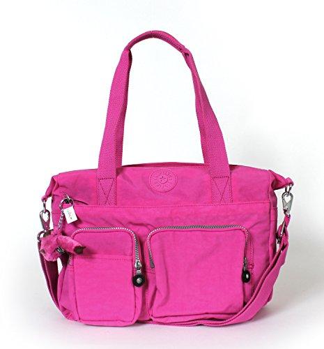 Kipling Sady Tote Handbag Breezy Pink